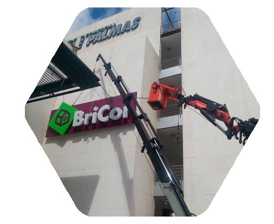 servicios de fabricación rotulos luminosos anuncios las palmas gran canaria