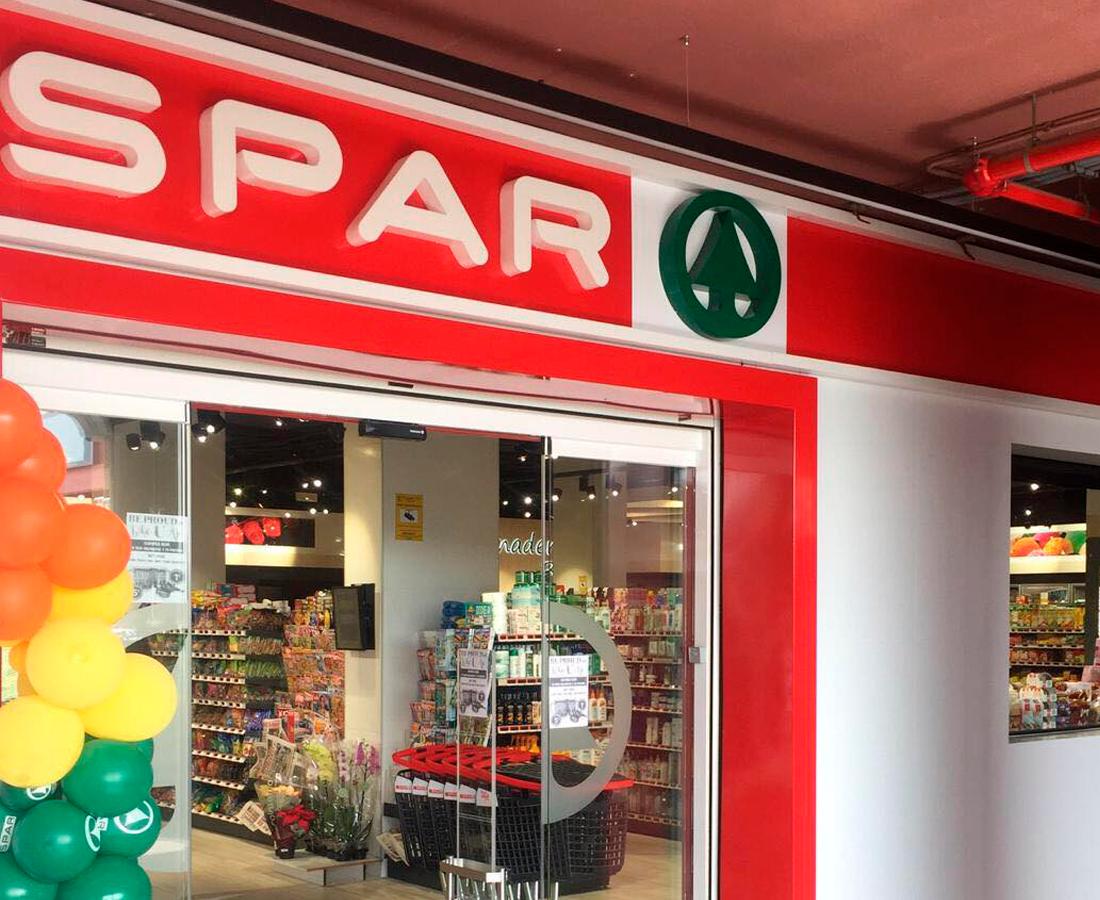 rotulos supermercado spar gran canaria las palmas anuncios luminosos torres