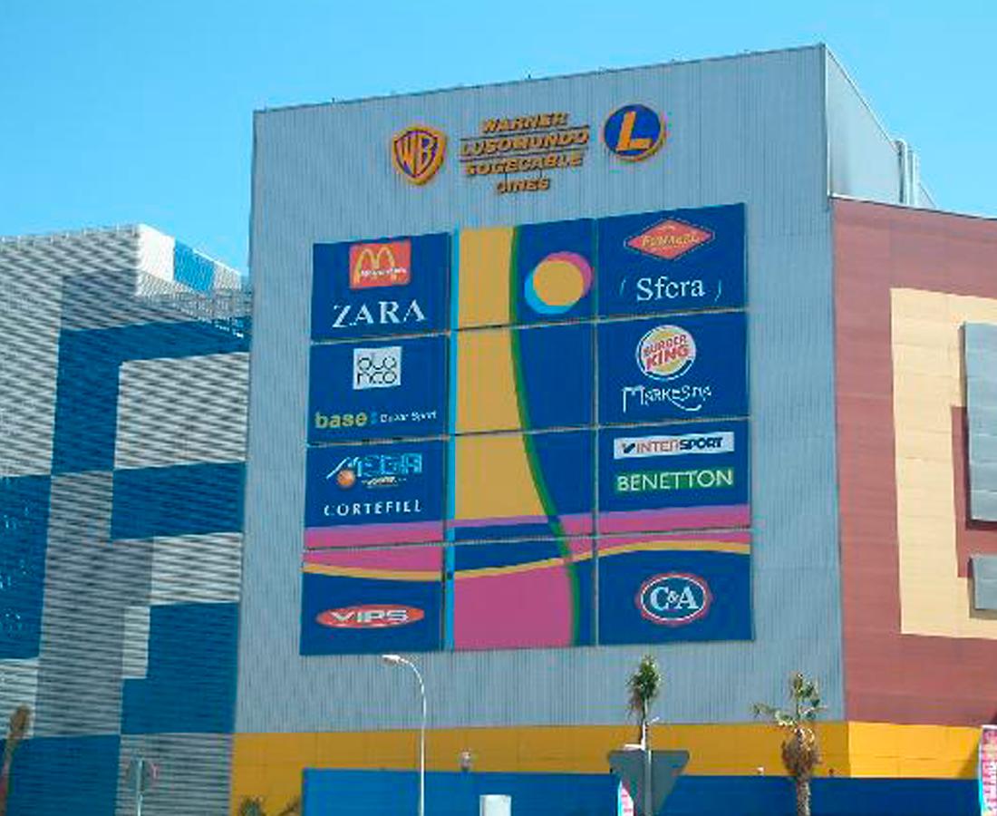 lonas anuncios luminosos torres las palmas